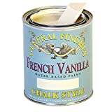 General Finishes MFVP Chalk Style Paint, 1 pint, French Vanilla