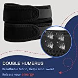 Venoro Knee Brace Adjustable Patella Tendon Strap Support for Pain Relief, Tendonitis, Arthritis, Running, Hiking, Basketball, Soccer, Volleyball