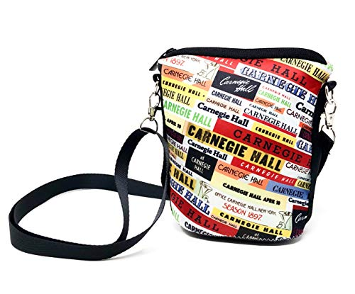 Carnegie Bag Hall Carnegie Hall Crossbody Neoprene 4Xq55wdPH