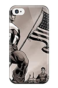 TYH - Frank J. Underwood's Shop 6091798K40526586 Iphone 4/4s Cover Case - Eco-friendly Packaging(captain America) phone case