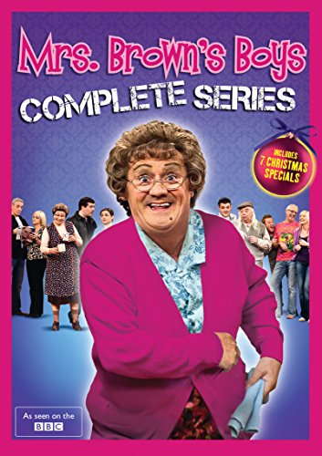 DVD : Mrs. Brown's Boys: Complete Series (Boxed Set, Snap Case, 8 Disc)
