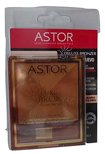 Astor 001 - Pantalla bronceadora con cepillo Astor Cosmetics GG-OXND-HGQ1