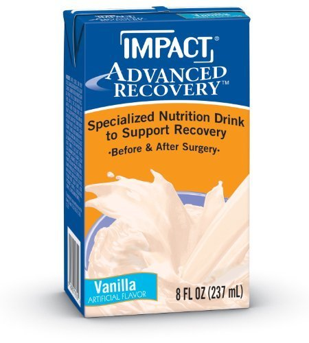 Impact Advanced Recovery Nutritional Drink, Vanilla, 8oz, 15 EA by (Impact Recovery)
