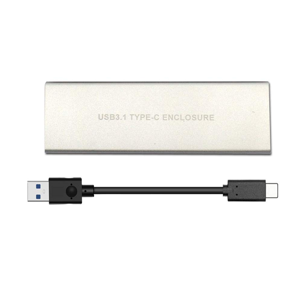 Alftek Bo/îtier SSD M.2 vers USB Type C 3.1 NVME NGFF PCIE