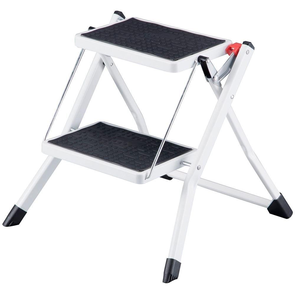 Compact Mini Folding 2-Step Stool Ladder