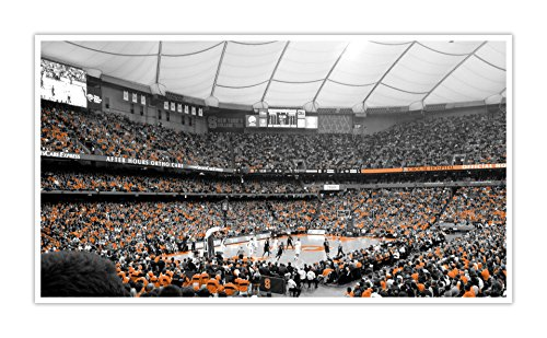(Syracuse Orange - College Basketball Touch of Color - 30x16 Matte Poster Print Wall Art TOC)