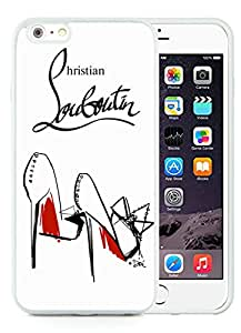 New Antiskid Designed Cover Case For iPhone 6 Plus 5.5 Inch With Christian Louboutin 9 White Phone Case
