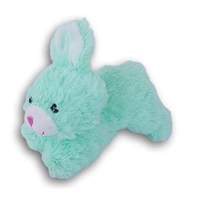 Stuffed Animals Bunny Plush Mini Running Rabbit Super Soft - 6 x 4.5 Inches (Mint Green): Toys & Games