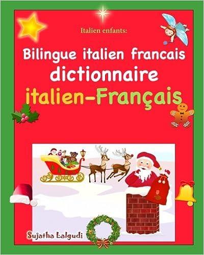 Italien Enfants Bilingue Italien Francais Dictionnaire