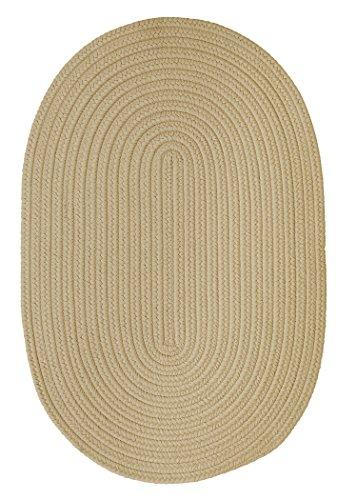 Boca Raton Polypropylene Braided Rug, 2-Feet by 3-Feet, (Boca Raton Linen)