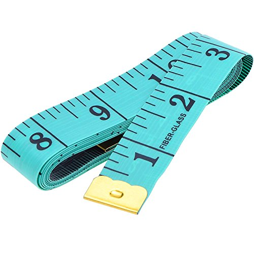 eBoot Soft Tape Measure for Sewing Tailor Cloth Ruler (Green)