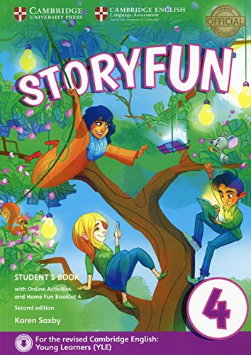 Storyfun for Movers Level 4 Student's Book with Online Activities and Home Fun Booklet - Fun Movers For