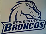 Boise State Broncos Cornhole Decals - 2 Free Circles