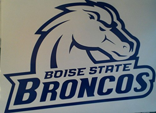 Boise State Broncos Cornhole Decals - 2 Free Circles by The Cornhole King