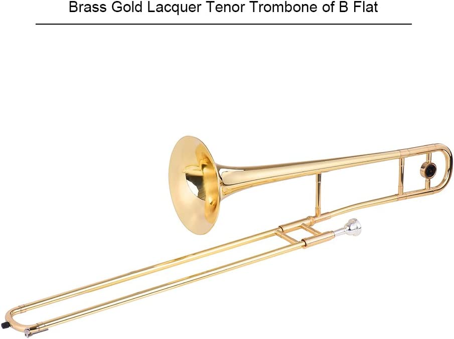 Nasir Ali Valve Trombone Bb Black