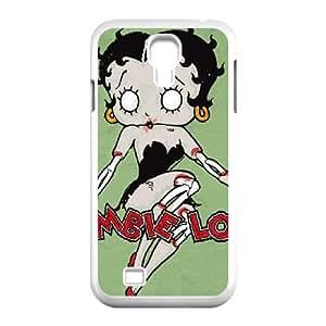 Samsung Galaxy S4 9500 Cell Phone Case White Betty Boop Zombie Love Zfpuj