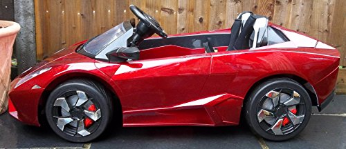 Kids 2 Seater Lamborghini Style Sports Car With Remote Control 12v
