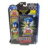 Sonic 20th Anniversary Action Figure Collectors Tin Set Sonic
