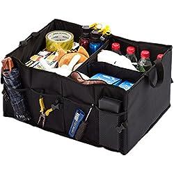 Folding Car Trunk Organizer Storage Collapse Box Grocery Basket Bag Portable