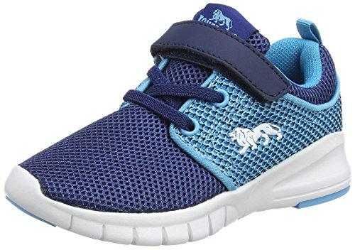 LonsdaleSivas - Zapatillas de running Unisex, para niños, color azul, talla 12 UK 31 EU