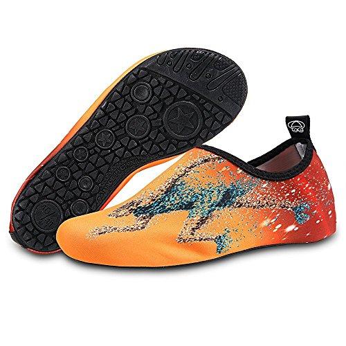 Kids Slip Quick Orangerunning Yoga Barefoot Socks NEWCOSPLAY for On Shoes Women Men Dry 1q6OyAgTZ