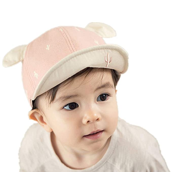 7e83702a Baby Caps Summer Girl Boys Sun Hat with Ear Spring Newborn Photography  Props,Adjustable Infant
