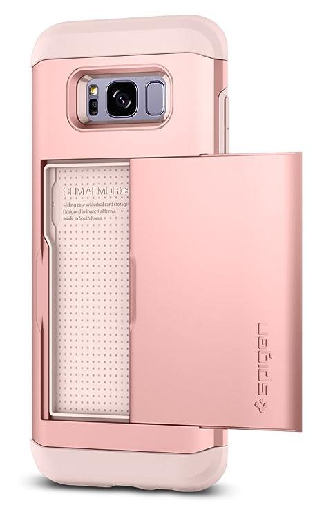 spigen Funda Galaxy S8, Carcasa [Slim Armor CS] Delgado de Doble Capa de