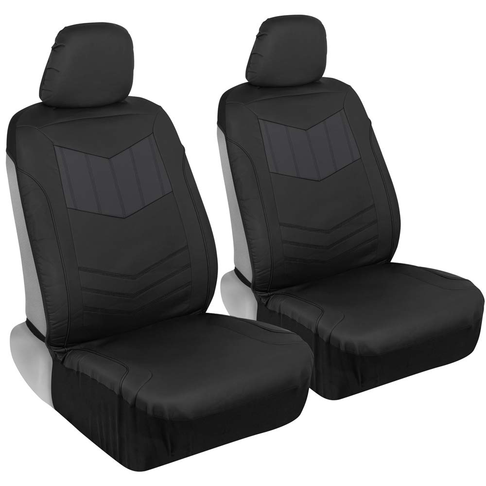 Motor Trend MTSC304 Gray Plush Leather Covers}