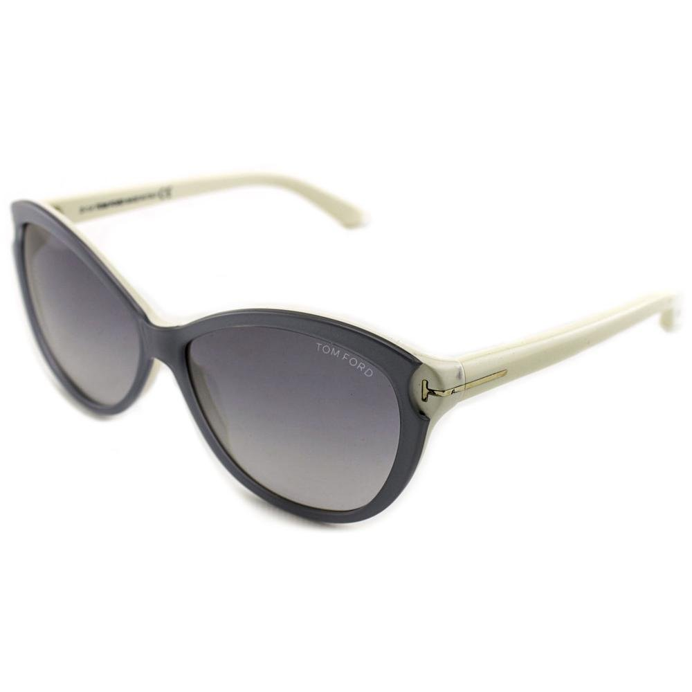 e916fac5c69a Tom ford womens telma cat eye grey blue sunglasses clothing jpg 1000x1000  Tom ford cat eye