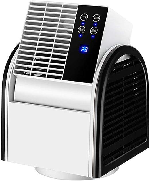 Ventilador De Circulación De Aire Remoto For Convección De Turbina De Sobremesa, Pantalla Táctil, Velocidad De ...
