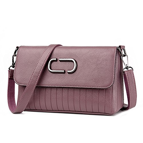 Casual Fashion Simple Fashion Handbag Fashion Generous Bag Leather C Bag Shoulder Lady Messenger qxC4pIwE