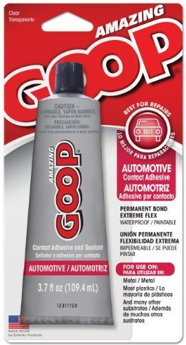 Automotive Goop - Amazing Goop 3.7-Ounce Automotive Contact Adhesive and Sealant by ECLECTIC PRODUCTS INC
