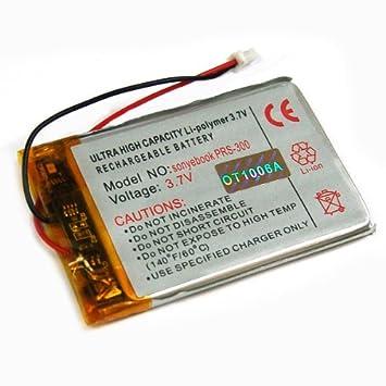 batería acumulador para Sony Reader eBook PRS-300 Li-Po, Accu ...