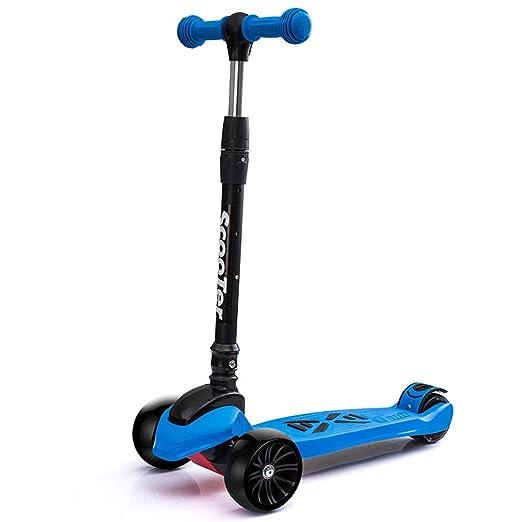 Fenfen Scooter de 4 Ruedas de Altura Ajustable Plegable de ...
