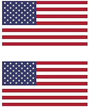 AMMO FLAG USA  VINYL DECAL STICKER MANY COLORS FREE SHIPPING