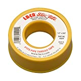 "LA-CO 44094 Slic-Tite PTFE Gas Line Pipe Thread Tape, Premium Grade, [260"" Length, 1/2"" Wide], Yellow"