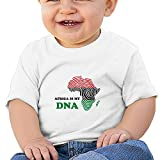 YELOFISH Baby T Shirt Africa is My DNA Short Sleeve Tee Shirt