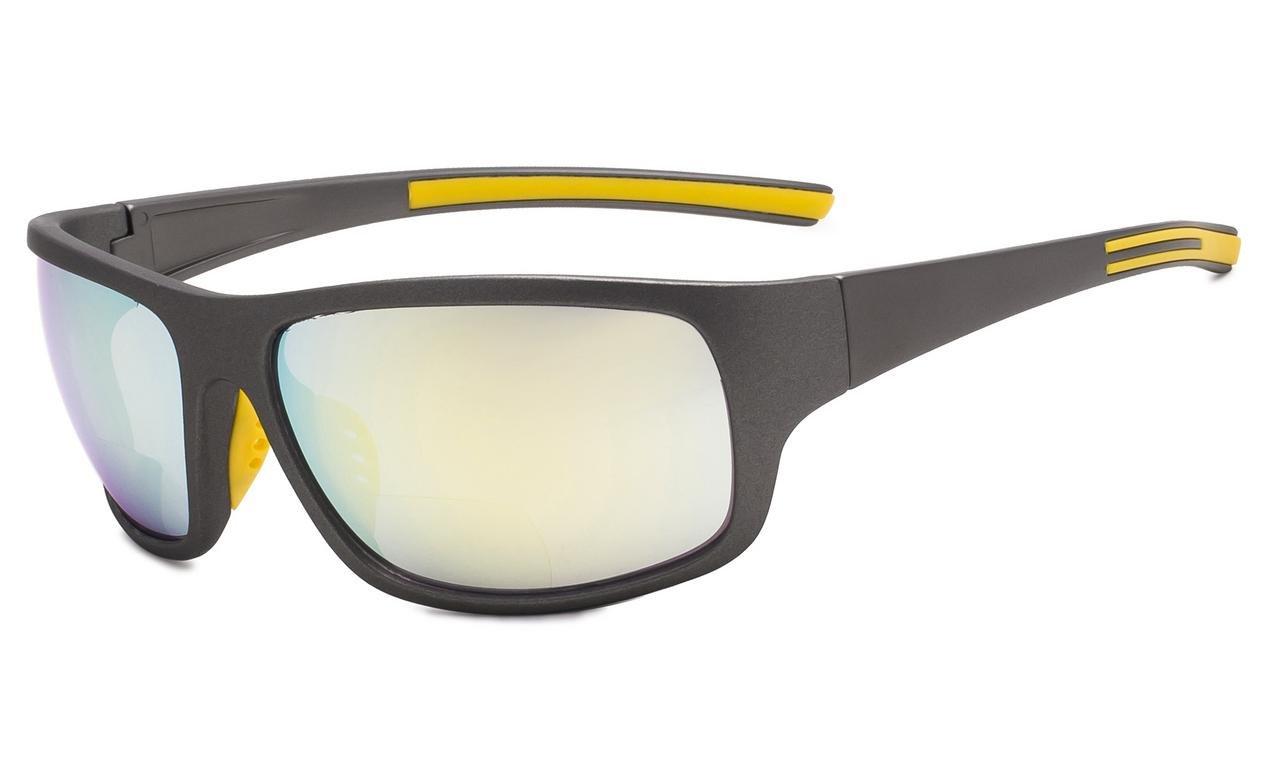 TALLA +1.50. Eyekepper Bifocales Gafas De Sol +1.50 Strength Lectura Gafas De Sol (Oro Espejo)
