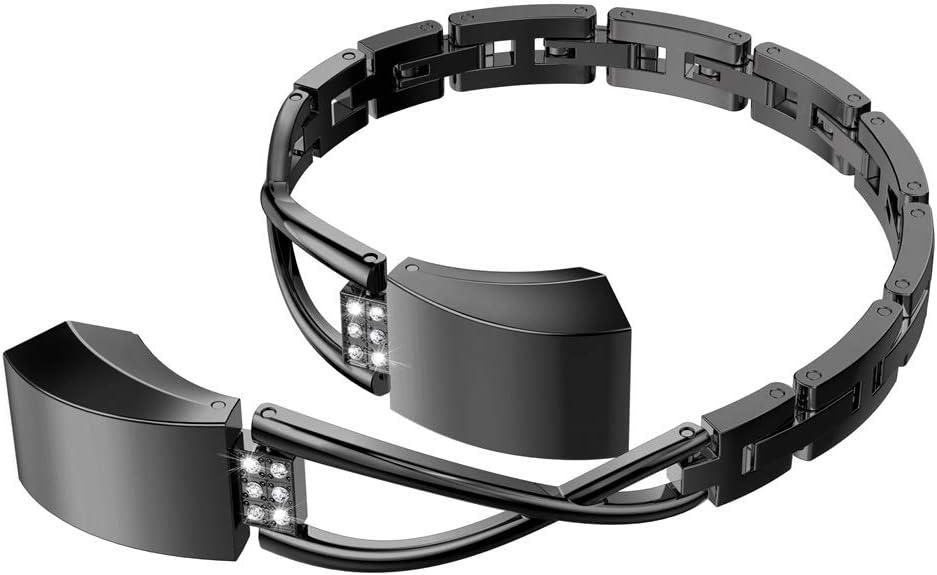 Amazon.com: Wearlizer Compatible con Fitbit Alta Bandas ...
