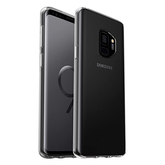 low priced 6a443 53fea OtterBox Symmetry Clear Series Case for Samsung Galaxy S9 - Frustration  Free Packaging - Clear