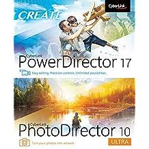 Cyberlink PowerDirector 17 and PhotoDirector 10 Ultra [PC Download]