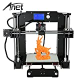 Anet A6 Desktop 3D Printer DIY Kit Includes Micro SD Card Acrylic Plate Support ABS,HIPS,PLA Material Printing Printers ShakeLady