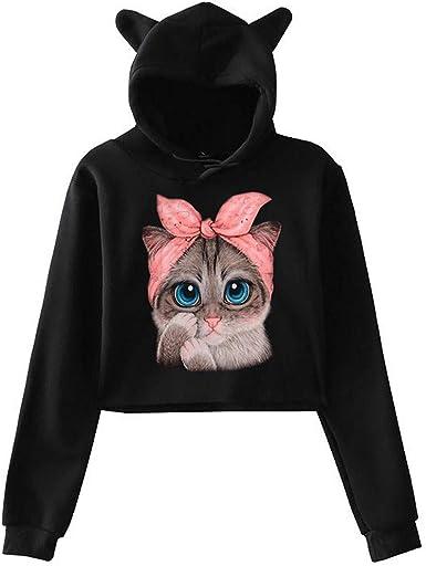 Yajiemen Women Fashion Hooded Sleeveless Sweater Vest Blouse Shirts Coat Sweatshirt