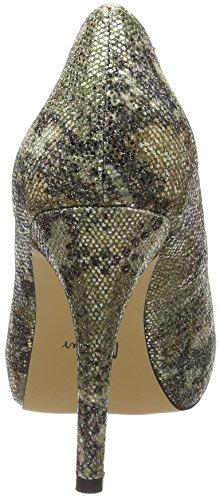 Mehrfarbig Gold Mino Multi Menbur Escarpins multicolores Femme RwAOO8qB