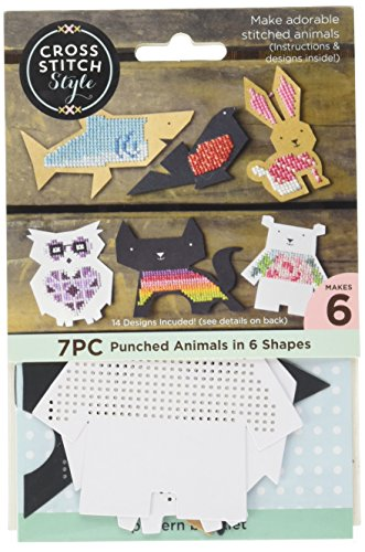3 Birds Animal Shapes Punched for Cross - Shape Punched