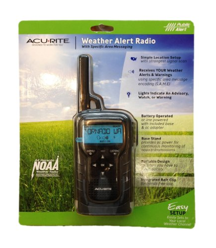 Acurite Portable Weather Alert Radio