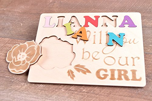 Flower girl proposal Will you be our flower girl gift by BoutiqueEclipse