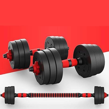 CCLIFE Set dhalt/ères Courts 20 kg halt/ères Courts Musculation Disque Musculation