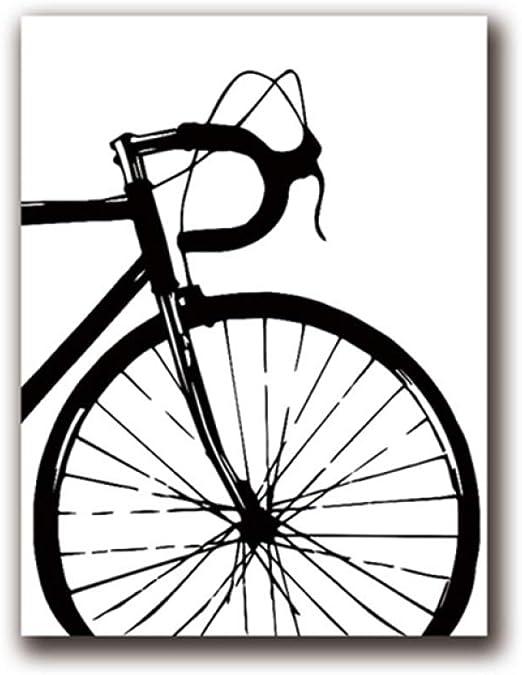FXBSZ Bicicleta póster impresión Lienzo pictórico impresión ...