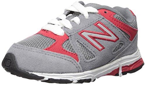 New Balance KJ888V1 Running Shoe, 9.5 M US Toddler, Grey/Red
